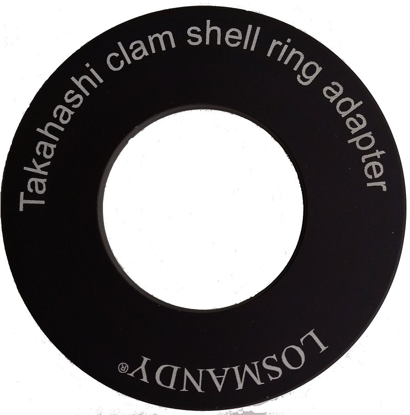 TAKAHASHI CLAM SHELL TO D SERIES DOVETAIL PLATE ADAPTER